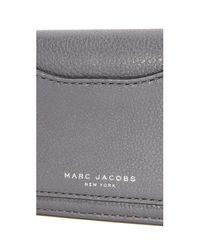 Marc Jacobs | Gray Recruit Open Face Wallet | Lyst