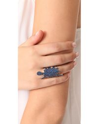 Joanna Laura Constantine | Metallic Paint Splash Ring | Lyst