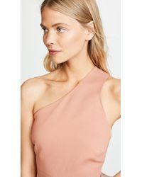 Michelle Mason Pink Back Strap Dress