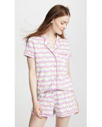 Roberta Roller Rabbit - Pink Sissou Polo Pajama Set - Lyst