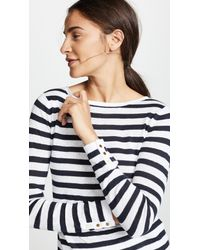 Club Monaco Blue Lana Sailor Sweater