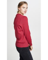Petit Bateau Red Colby Sweater