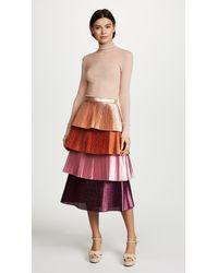 Delfi Collective - Pink Lauren Skirt - Lyst