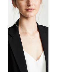 Adina Reyter - Multicolor 14k Large Diamond Curve Necklace - Lyst