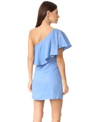 Capulet - Blue Clara One Shoulder Dress - Lyst