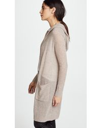 White + Warren - Multicolor Featherweight Cashmere Cardigan - Lyst