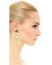 Lizzie Fortunato - Metallic Golden Hour Earrings - Lyst