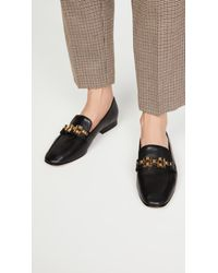 Veronica Beard Black Alire Loafers