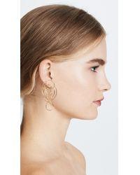 Joanna Laura Constantine - Metallic Multi Knot Earrings - Lyst