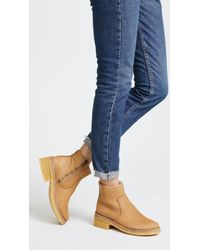 A.P.C. Natural Ariette Booties