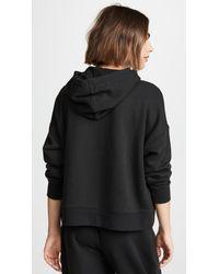 Calvin Klein - Black Monogram Lounge Hoodie - Lyst