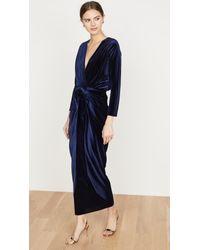 MISA Los Angles Blue Sienna Dress