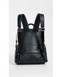 Tumi - Black Lexa Zip Flap Backpack - Lyst