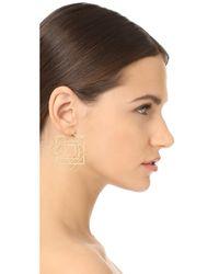 Noir Jewelry - Metallic Sunset Ocean Earrings - Lyst