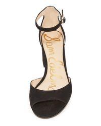 Sam Edelman - Black Susie City Sandals - Lyst