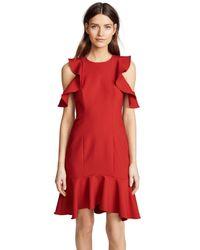 Cinq À Sept Red Micah Dress