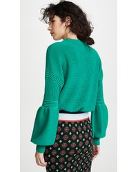 The Fifth Label Green Explore Knit Sweater