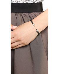 Vita Fede - Black Mini Titan Two Tone Crystal Bracelet - Lyst