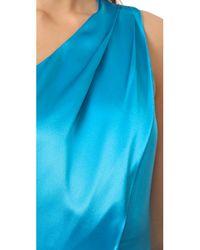 Zac Posen Blue Stacy Gown