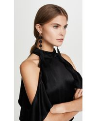 Deepa Gurnani - Black Deepa By Linda Earrings - Lyst