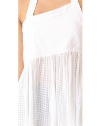 Free People - White Just Can't Get Enough Top - Lyst