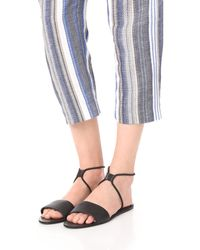 Dolce Vita | Black Dara Elastic Sandals | Lyst