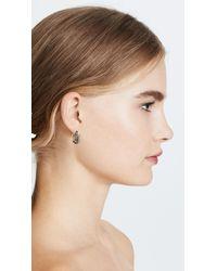 Alexis Bittar - Metallic Floating Orbit Earrings - Lyst