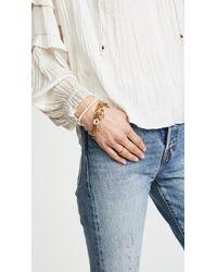 Chan Luu - Metallic Charm Bracelet - Lyst
