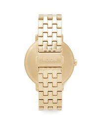 Nixon Metallic The Arrow Watch