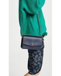 Tory Burch - Blue Robinson Mini Shoulder Bag - Lyst