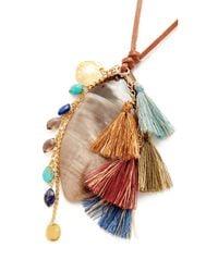 Chan Luu | Metallic Pendant Necklace | Lyst