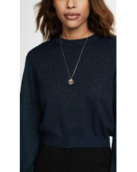 Marc Jacobs - Metallic Double Sided Pendant Necklace - Lyst