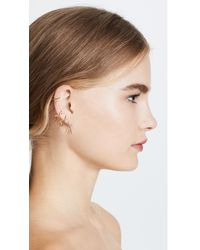 Joanna Laura Constantine - Metallic Crisscross Earring Set - Lyst