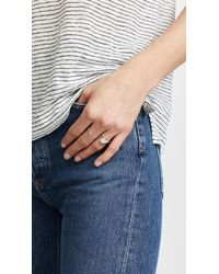 Shashi - Multicolor Signet Ring - Lyst