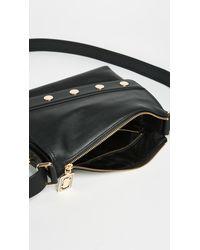 Marc Jacobs Black Mini Downtown Cross Body Bag