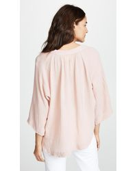9seed Pink Marrakesh Cover Up Top
