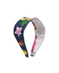 NAMJOSH - Multicolor Fruit & Flower Headband - Lyst