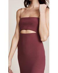 Bec & Bridge - Red Lady Allure Split Dress - Lyst
