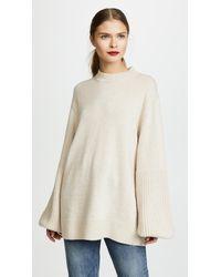 Elizabeth and James Natural Aida Sweater