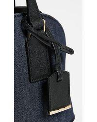 Kate Spade Blue Denim Small Lottie Bag