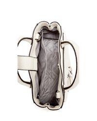 Rebecca Minkoff White Grommet Cross Body Bag