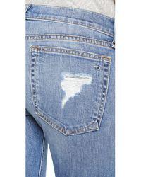 Rag & Bone Blue The Dre Slim Boyfriend Jeans