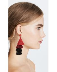Deepa Gurnani - Red Deepa By Alex Earrings - Lyst