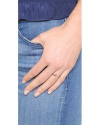 Vita Fede - Metallic Super Ultra Mini Titan Ring - Lyst