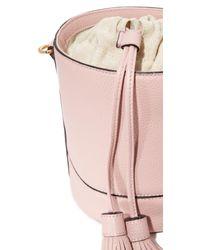 MILLY - Multicolor Astor Drawstring Bucket Bag - Lyst