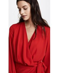 Fame & Partners Red The Maquino Dress