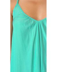 Pink Stitch - Green Resort Maxi Dress - Lyst