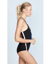 Morgan Lane - Black Lou Swimsuit - Lyst