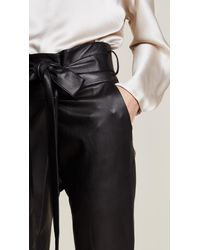 Alexis Black Jerri Leather Pants