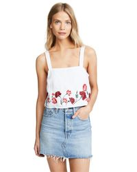 Club Monaco White Rheah Top